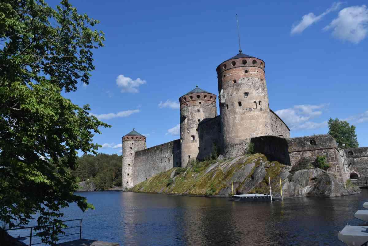 Die Burg Olavinlinna