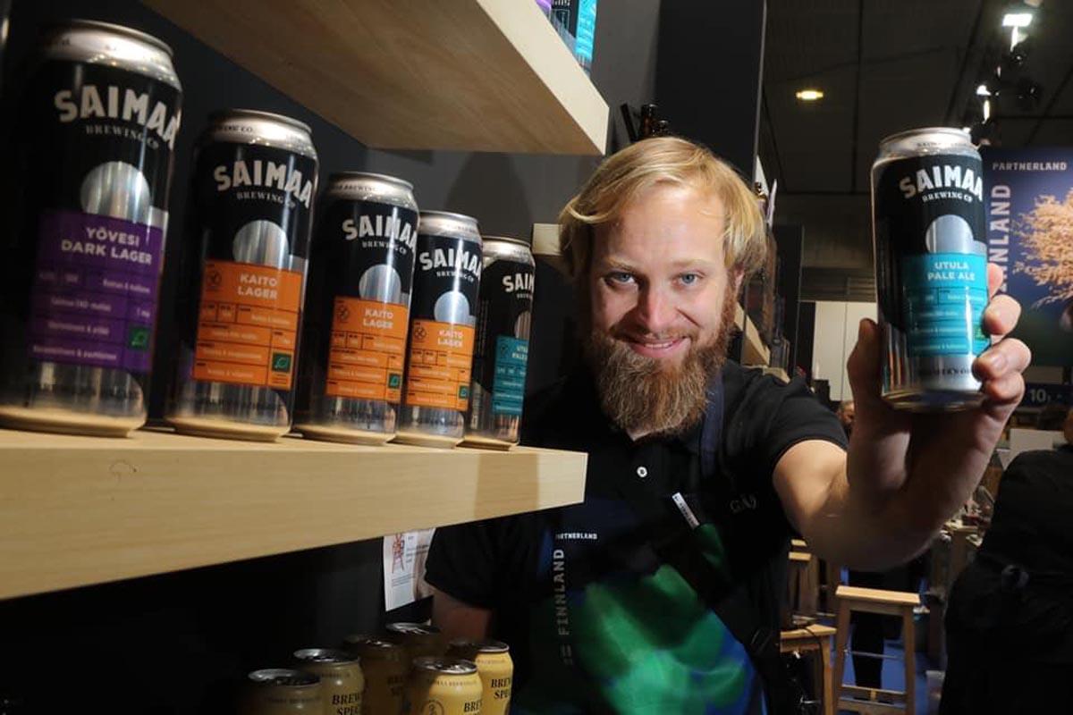 Oskari Lampisjärvi und finnisches Craft-Bier