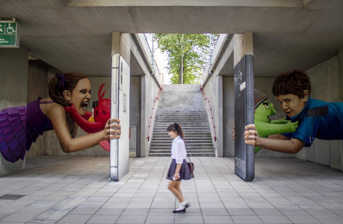 Street Art im Helsinkier Stadtteil asila
