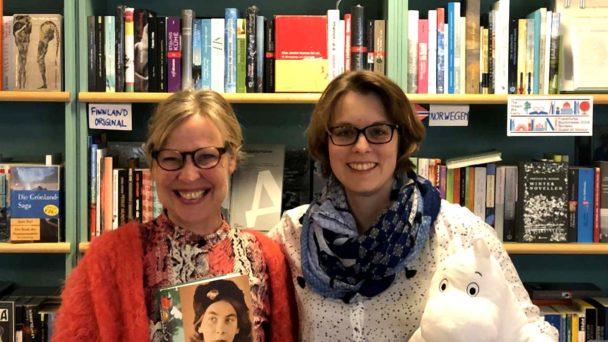 Finntastic und Petra Wenzel von Pankebuch