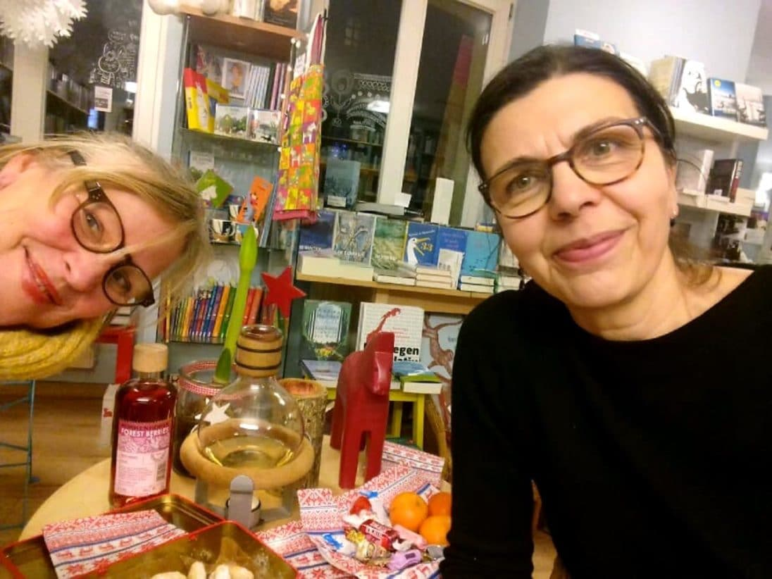 Petra Wenzel und Inhaberin Katrin Mirtschink