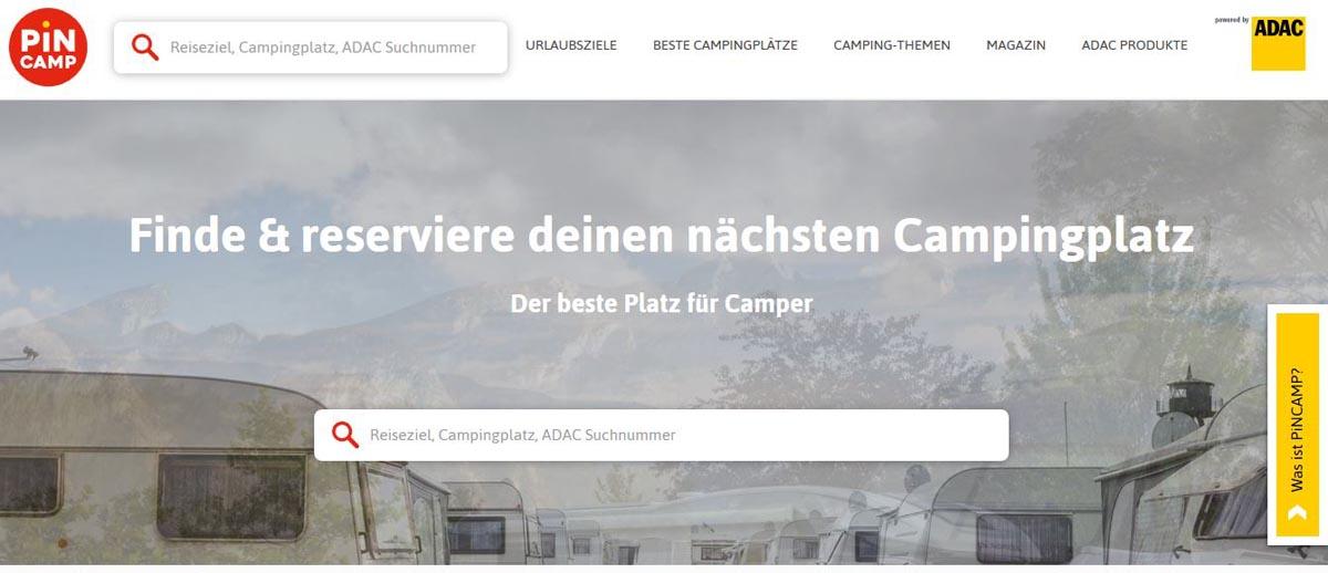 PinCamp - ADAC Camping GmbH
