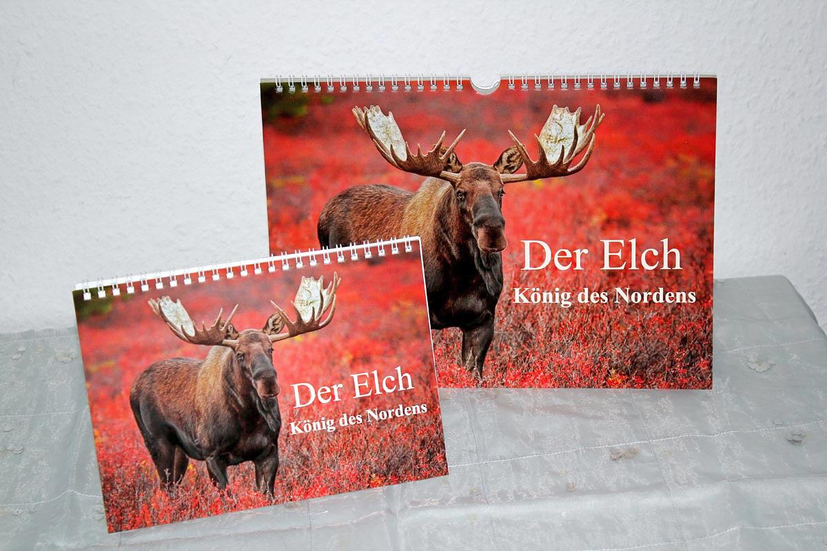 """Elchkalender """"Der Elch - König des Nordens"""""""