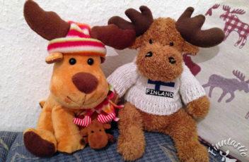 Rudolph auf Besuch