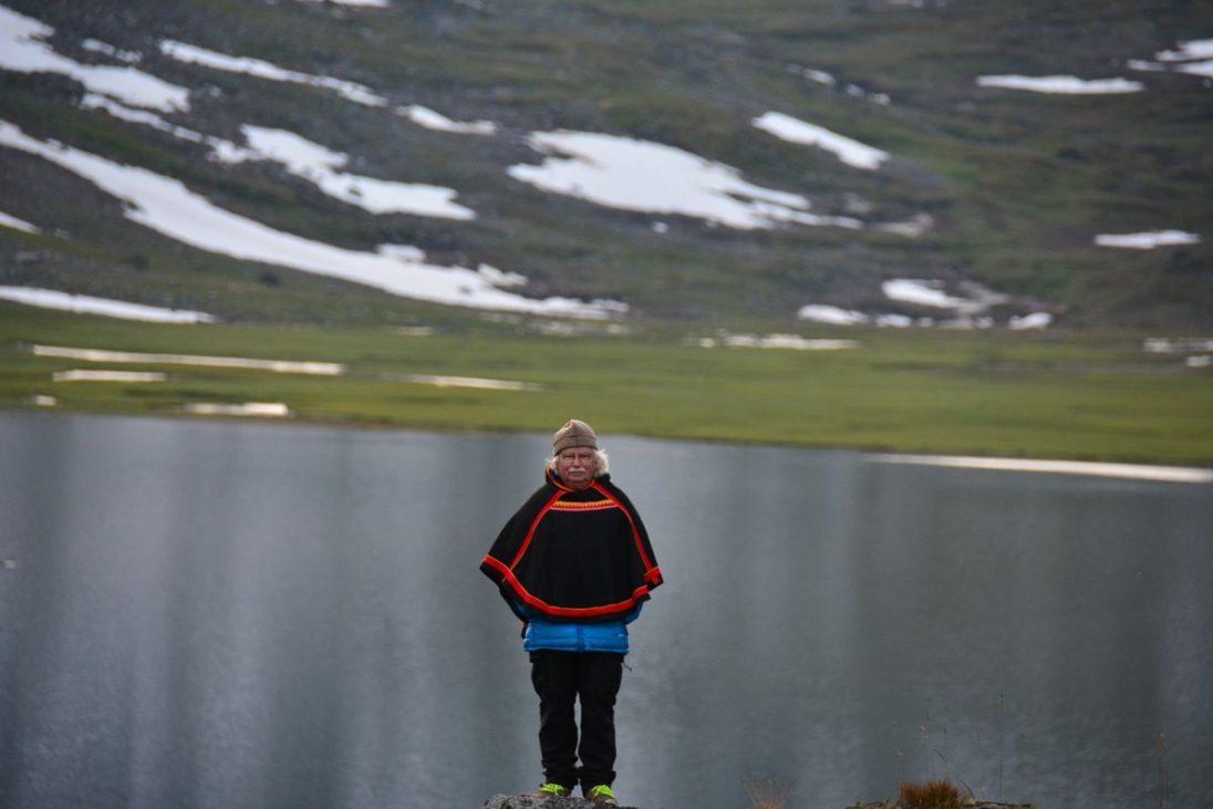 Hans-Joachim Gruda in Sápmi