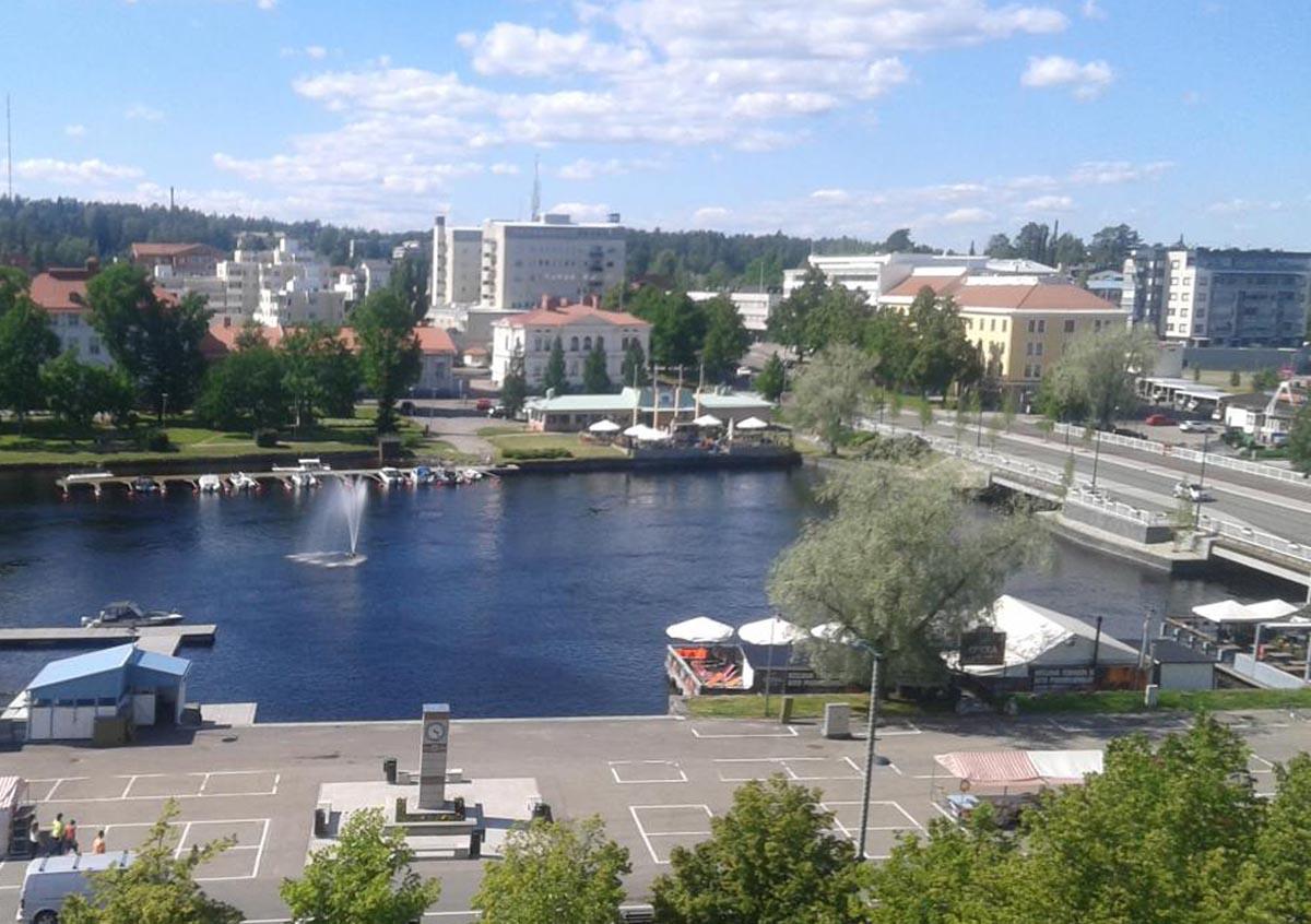 Savonlinna Markplatz