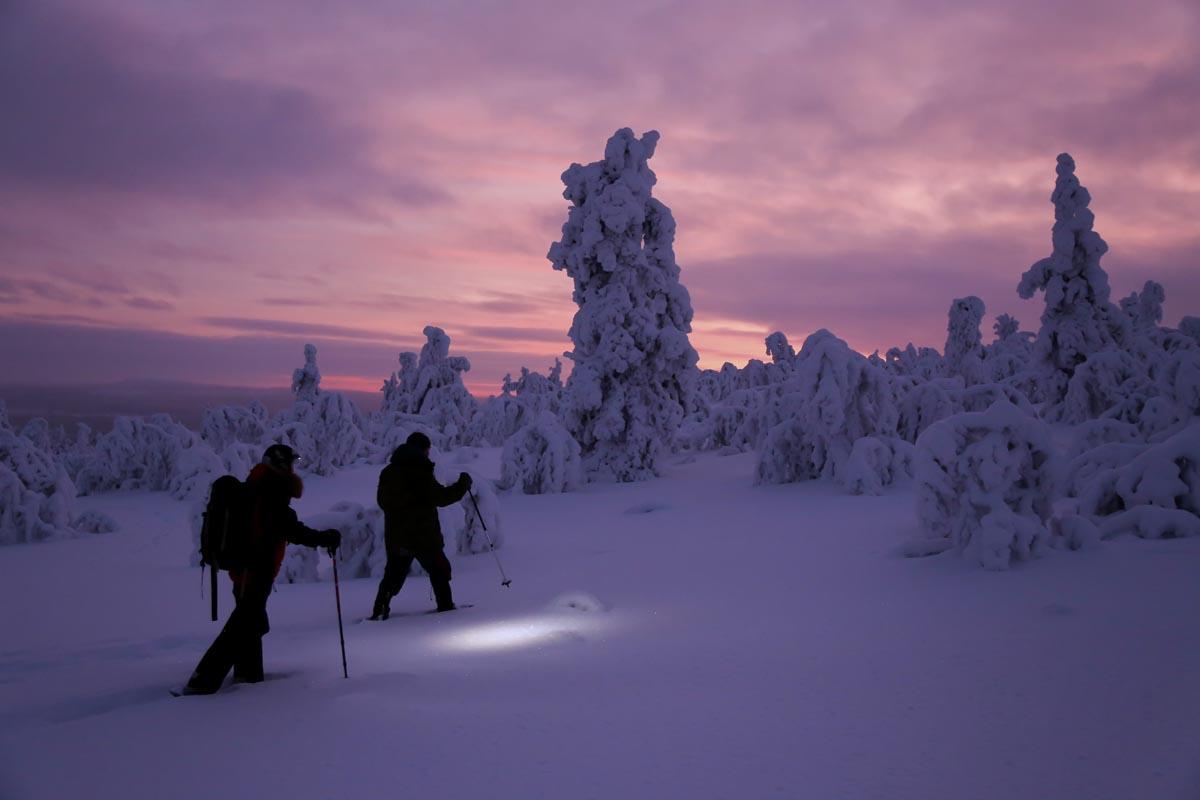 Schneeschuhwanderung Kaamos