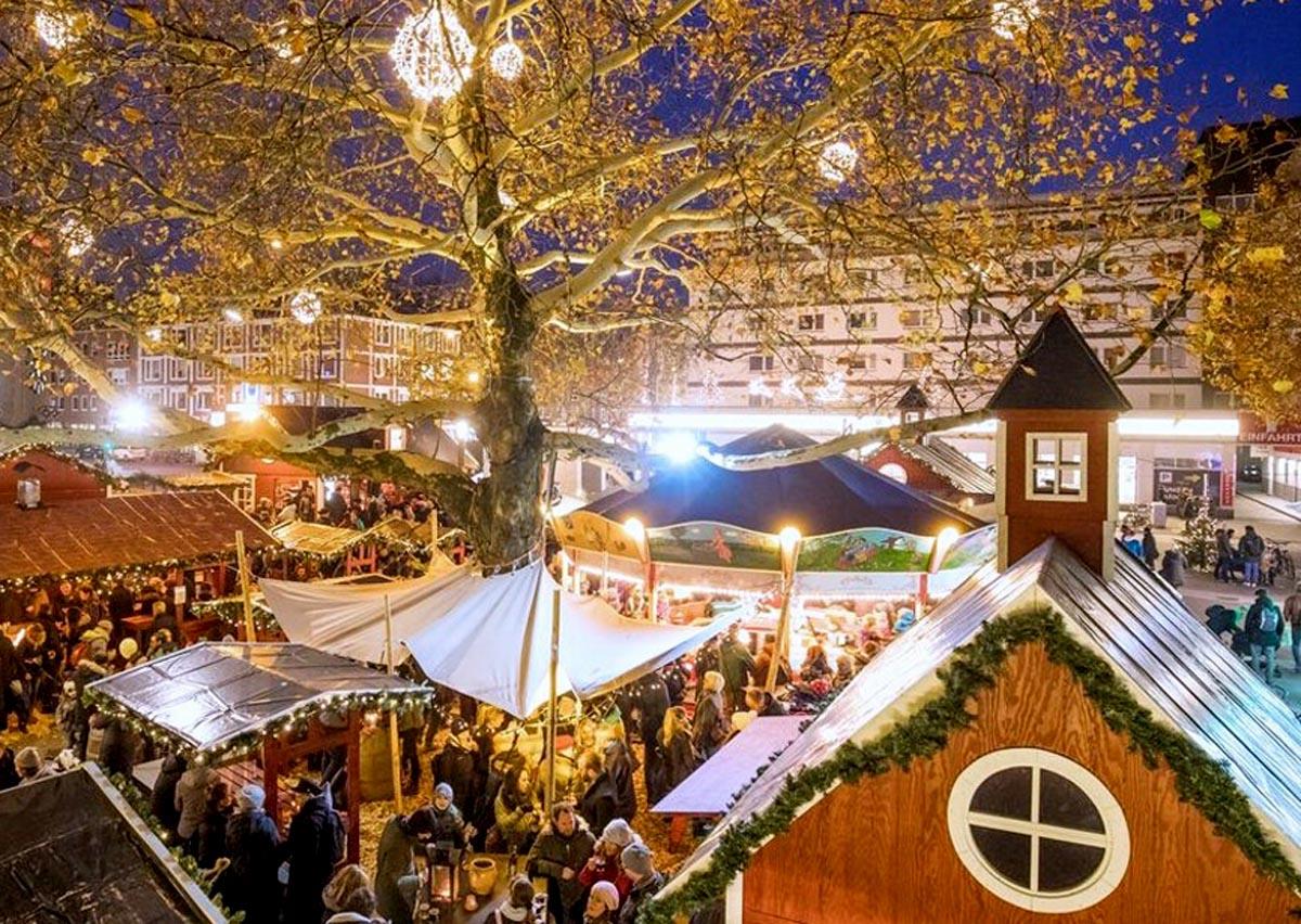 Skandinavisches Flair Weihnachtsmarkt Osterstraße Hamburg