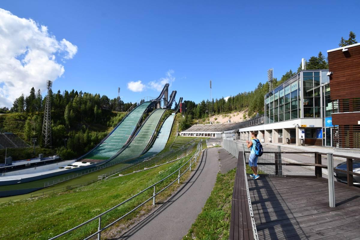 Sprungschanzen Lahti
