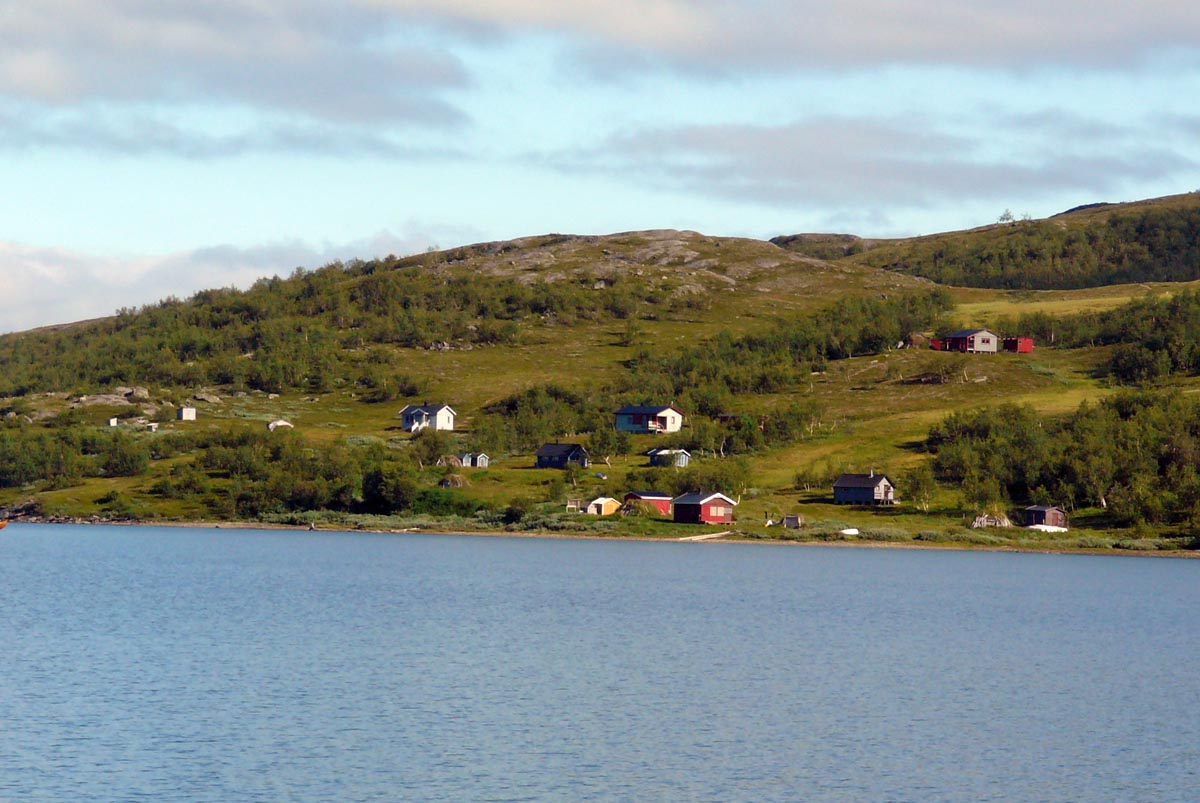 Ein Samidorf in Staloluokta