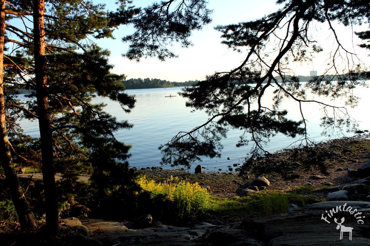 Helsinki - Blick auf die Ostsee