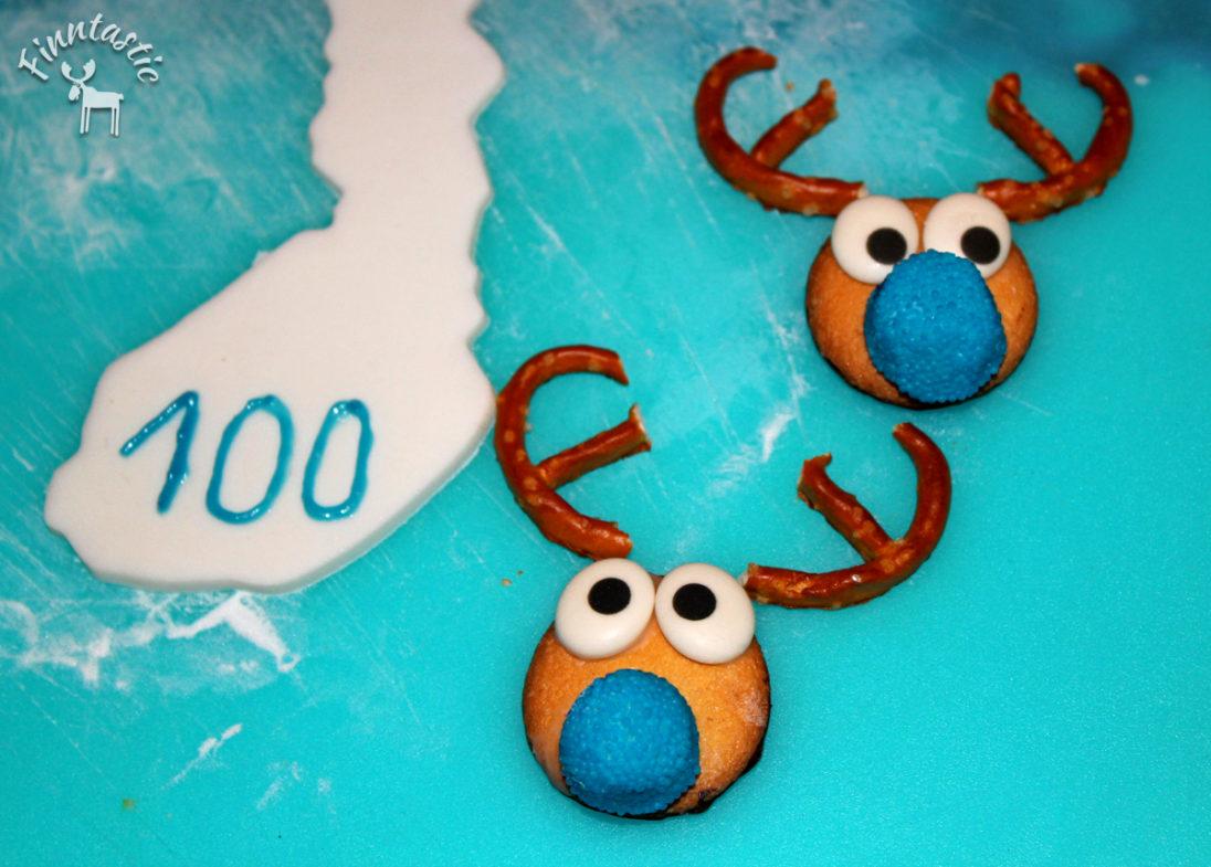 Dekoration - Finntastischer Rentier-Schokoladenkuchen