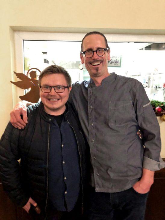 Teemu Kaijanen visited Reiner Neidhart in Karben, Germany