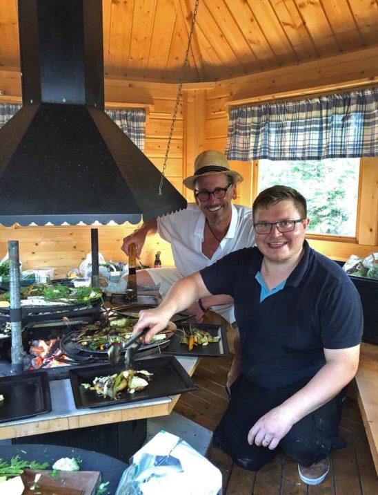 Reiner Neidhart visited Teemu Kaijanen in Finland