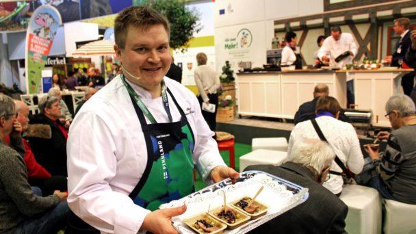 cooking chef Teemu Kaijanen form Mikkeli