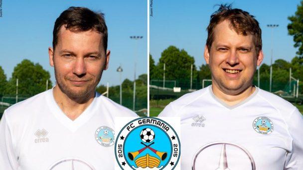 FC Germania Helsinki - Tim Becker und Simon Schultheis