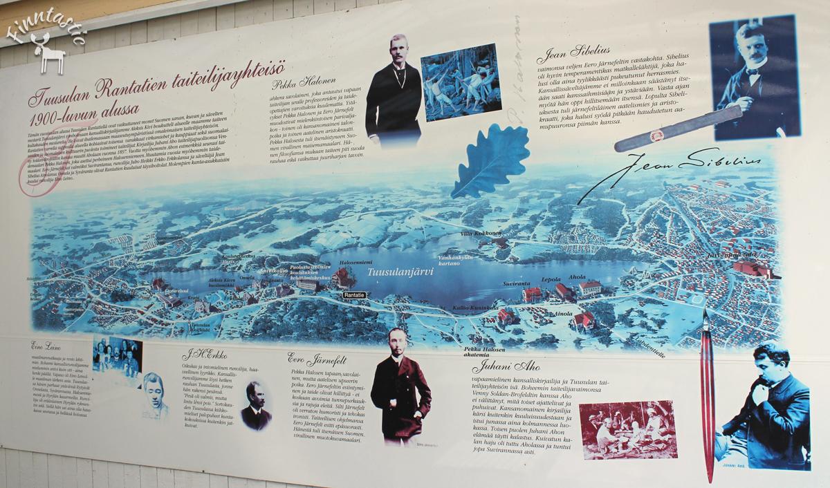 (FOTO: Finntastic) Die damalige Künstlerkolonie am Tuusulanjärvi