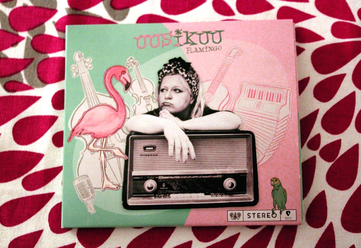 Uusikuu CD Flamingo