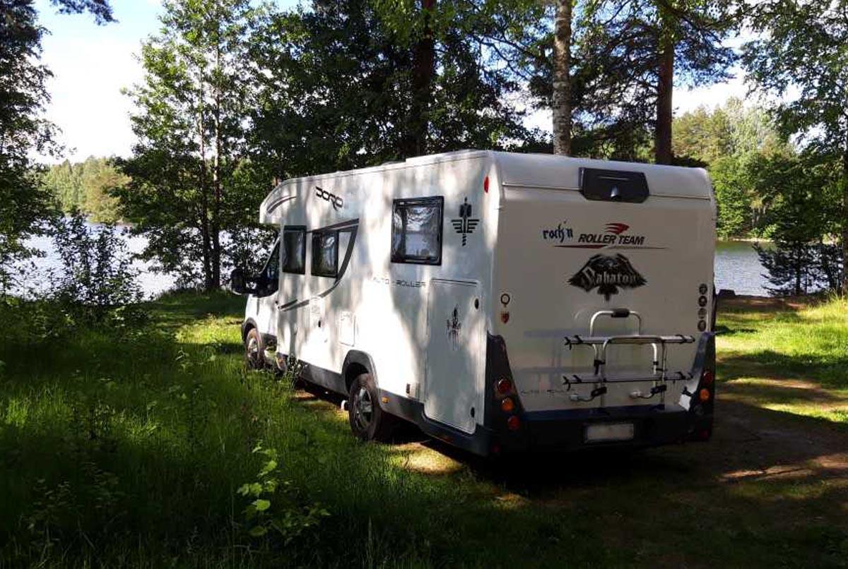 (FOTO: Simone und André Kersten) Das müsst ihr über das Campen mit dem Wohnmobil in Finnland wissen!