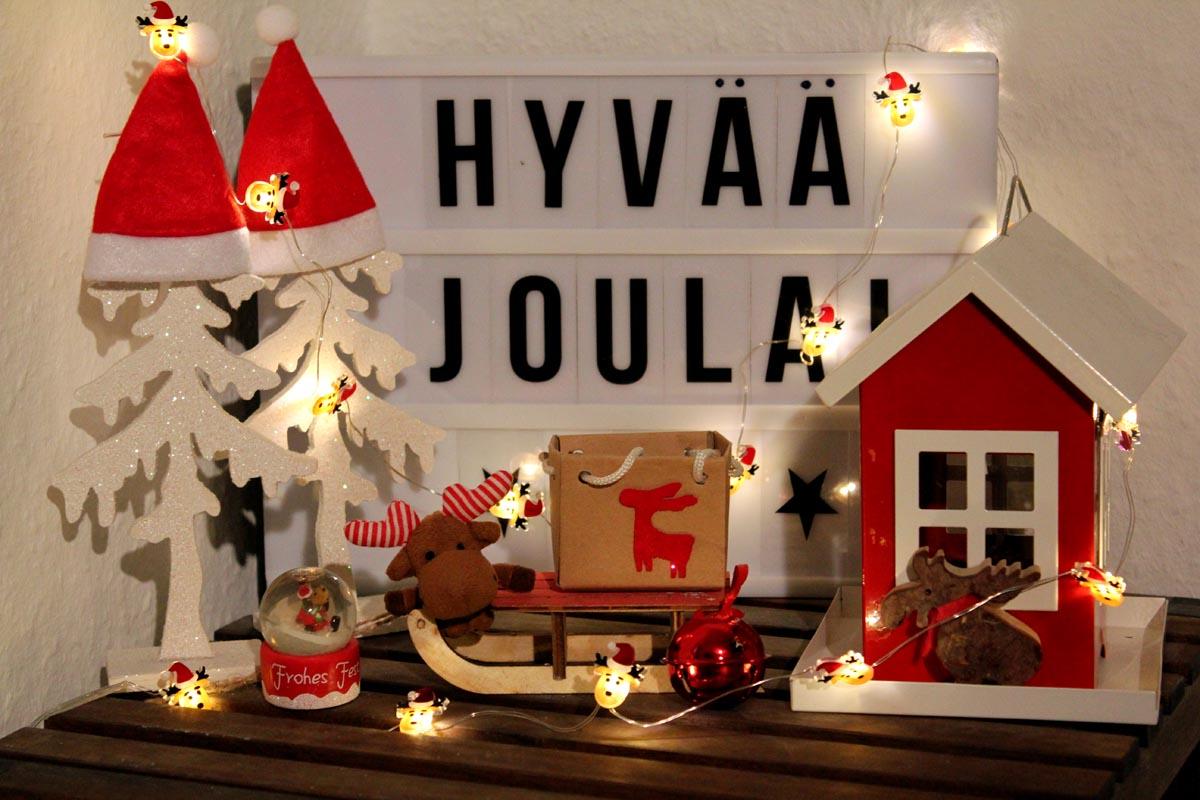 (FOTO: Finntastic) Janne-Oskari wünscht euch eine schöne Vorweihnachtszeit und ein schönes Weihnachtsfest!