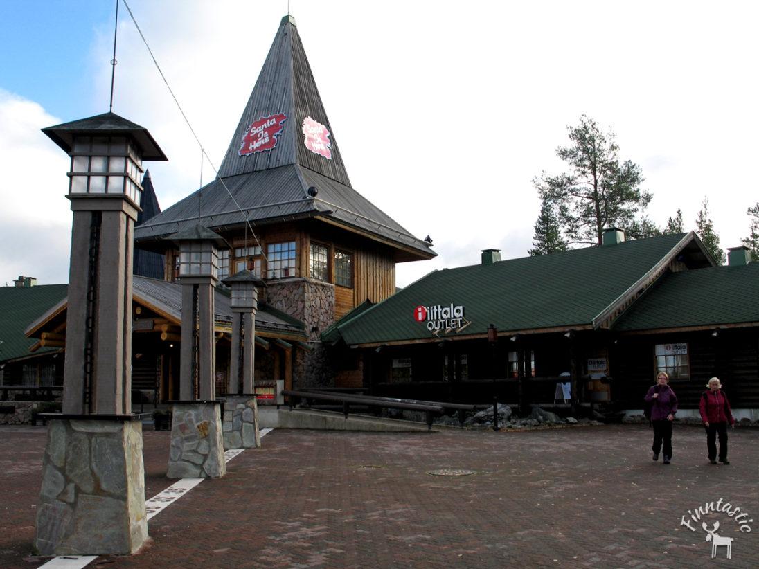 Das Dorf des Weihnachtsmannes in Finnland