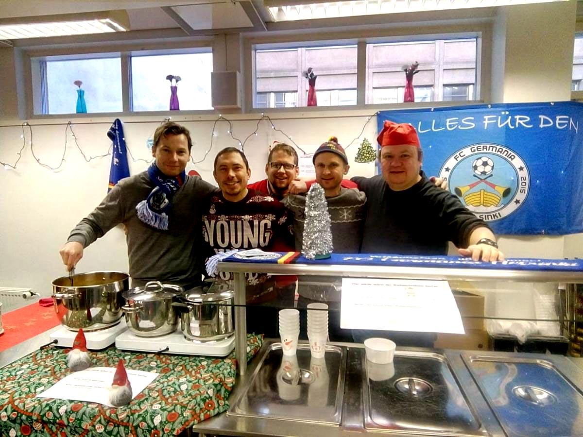 Weihnachtsmarkt Deutsche Schule Helsinki - FC Germania Helsinki 2019