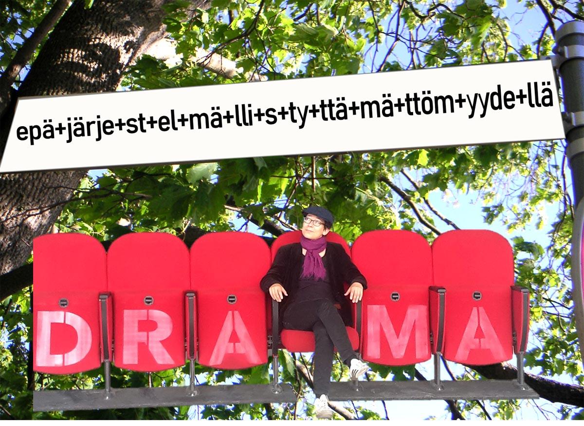 (FOTO: Yvonne Bindrim) Für alle geübten Finnischlerner und solche, die es werden wollen, hält Yvonne Bindrim vom Institut der Fennistik der Universität Greifswald  hier eine tolle Lerneinheit zum Thema